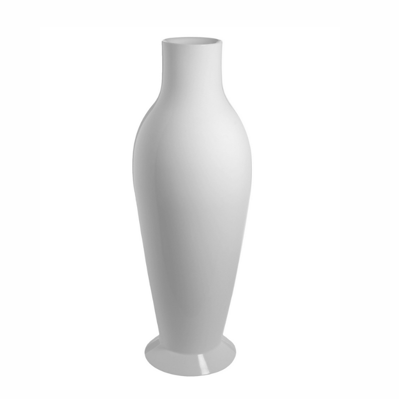 Misses Flower Power Vase, White