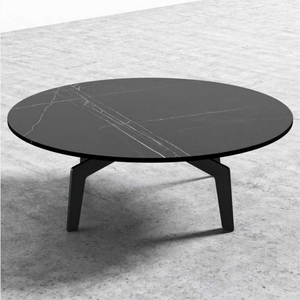 "RS Private Collection Coffee Table, Black Marble (40"")"