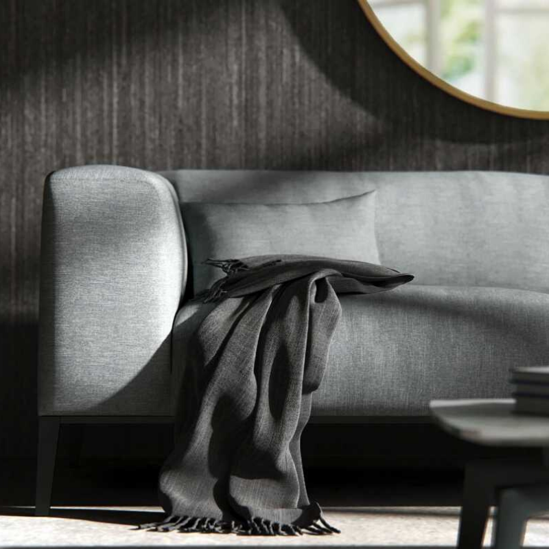 RS Private Collection Sofa, Performance Weave Mist