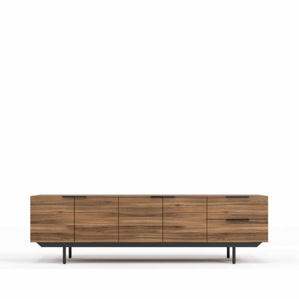 RS Private Collection Frame Style Sideboard, Walnut