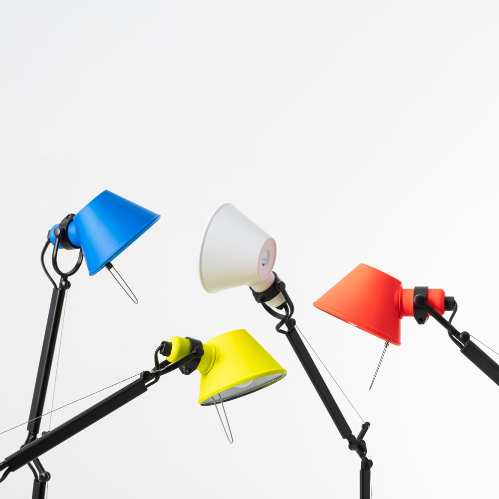 Tolomeo Micro Max Lamp - Red