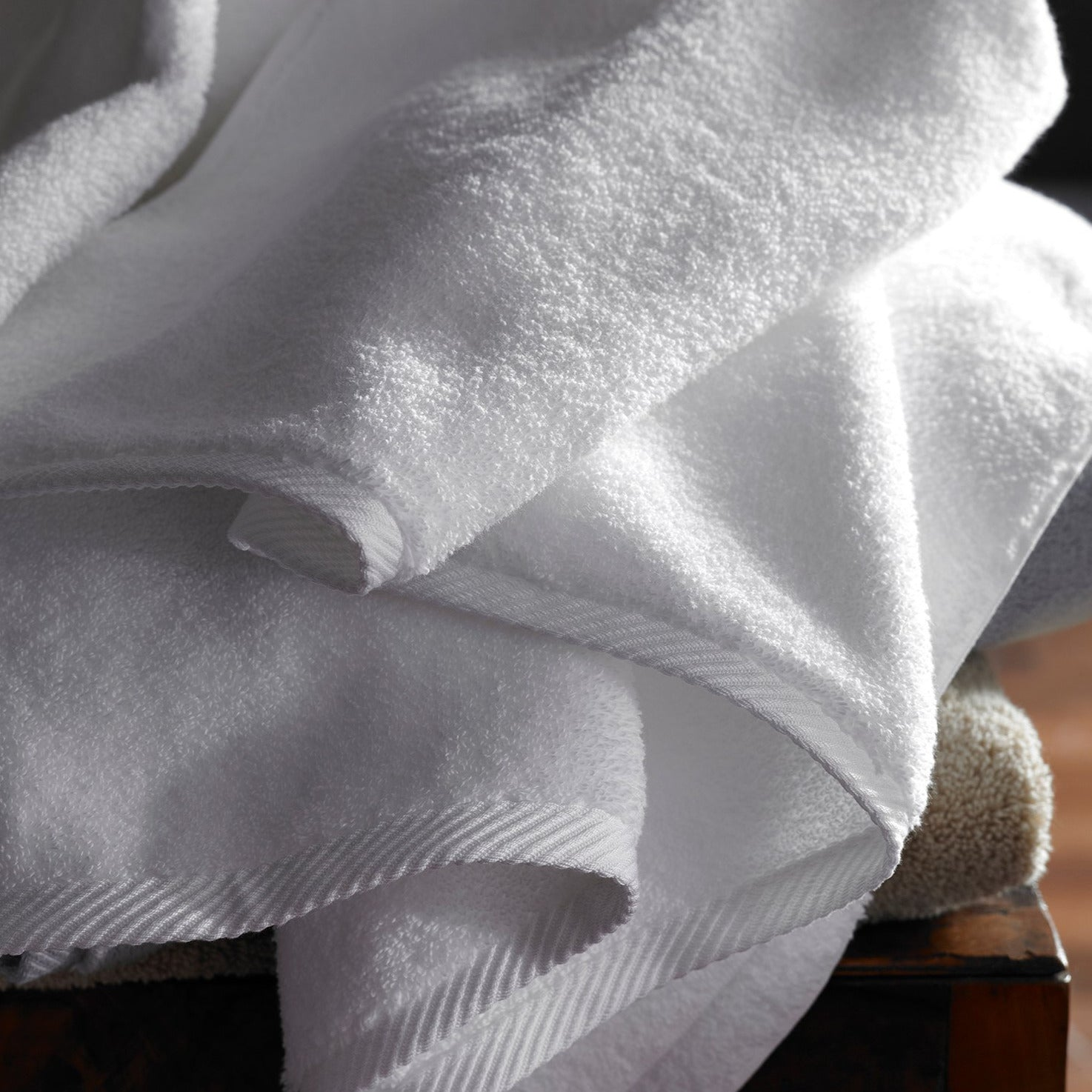 Milagro Towel Collection, Sterling