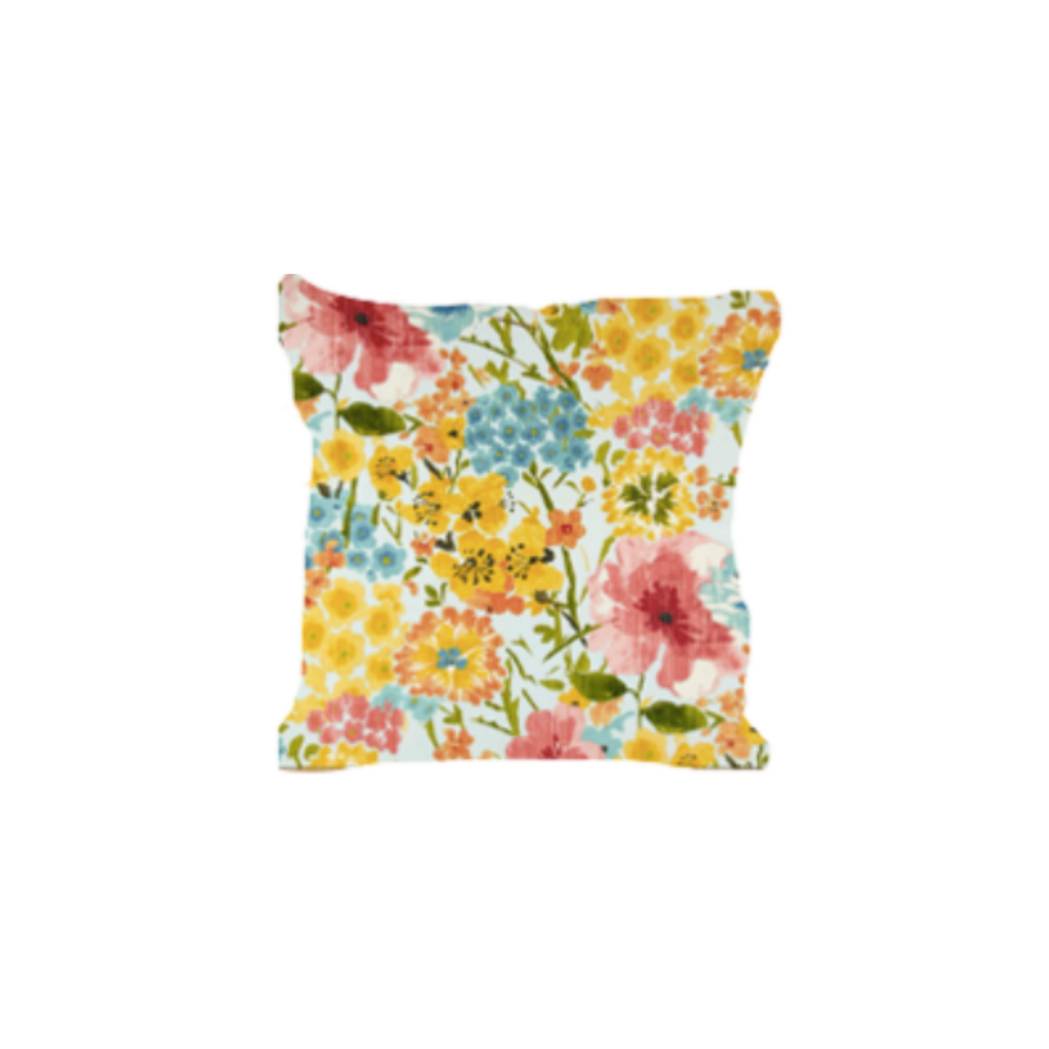 Outdoor Throw Pillow, Bali Dreams Bouquet