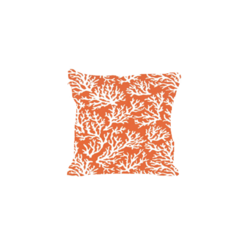 Outdoor Throw Pillow, Pacific Coast Coral