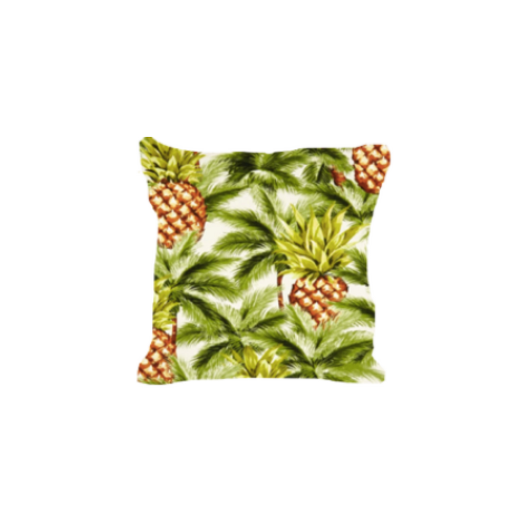 Outdoor Throw Pillow, Hawaiian Gold Pineapple
