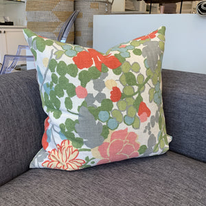 Throw Pillow, Amsterdam Floral