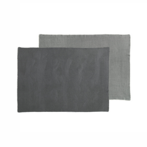 YLVA Blanket, Dark Grey / Charcoal