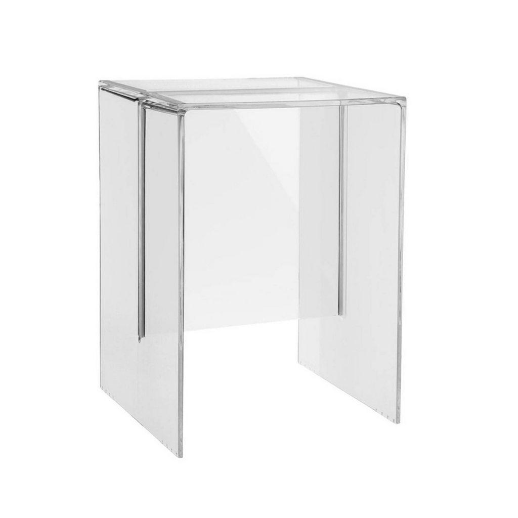 Max Beam Side Table, Crystal