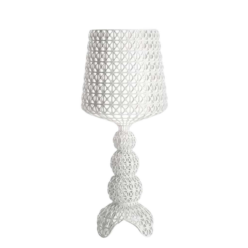 Kabuki Table Lamp, White