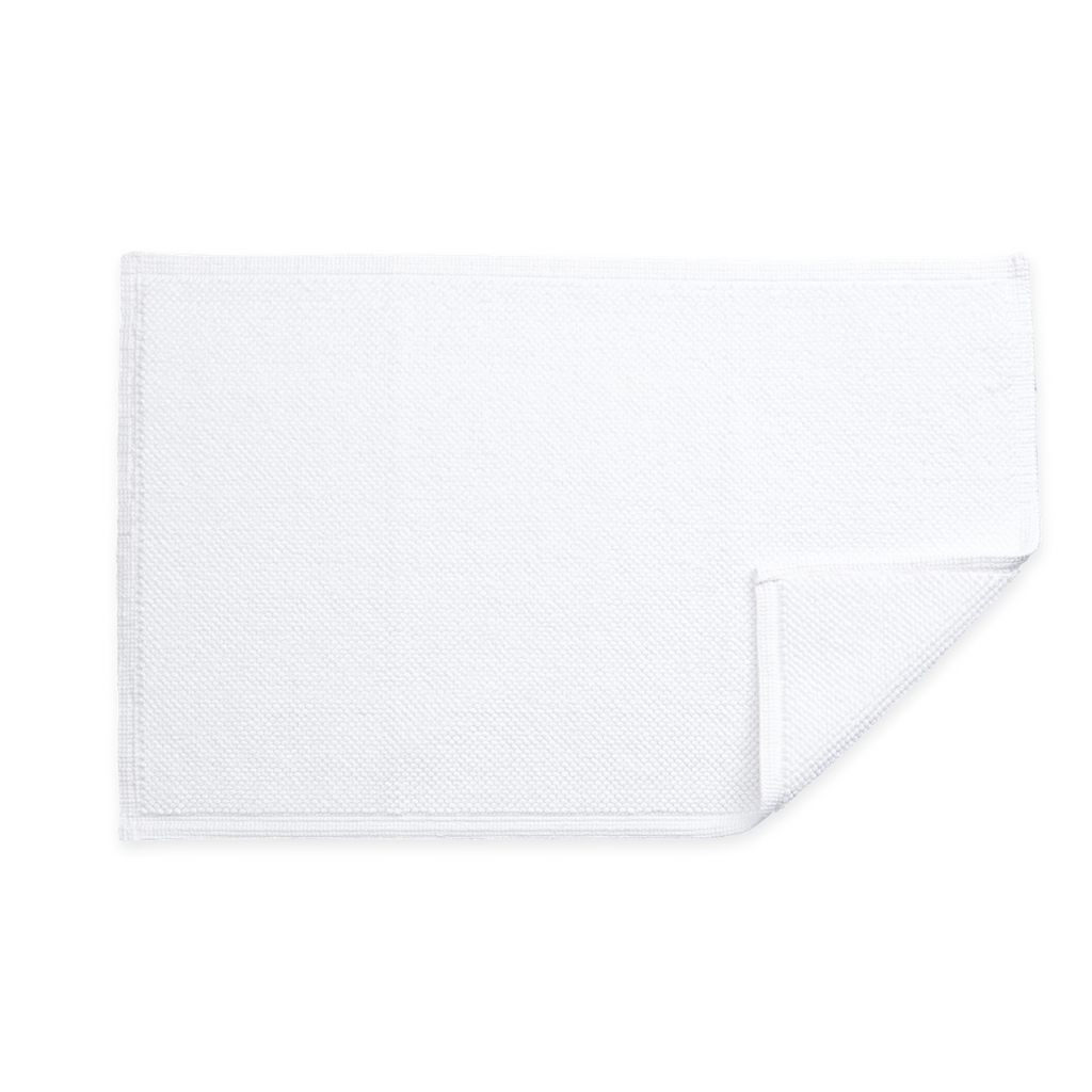 Reverie Bath Rug, White