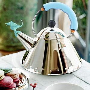 Michael Graves Tea Rex Kettle, Blue