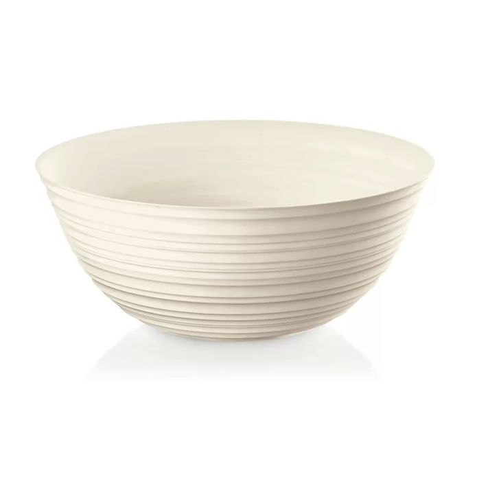 XL BOWL 'TIERRA', Milk White