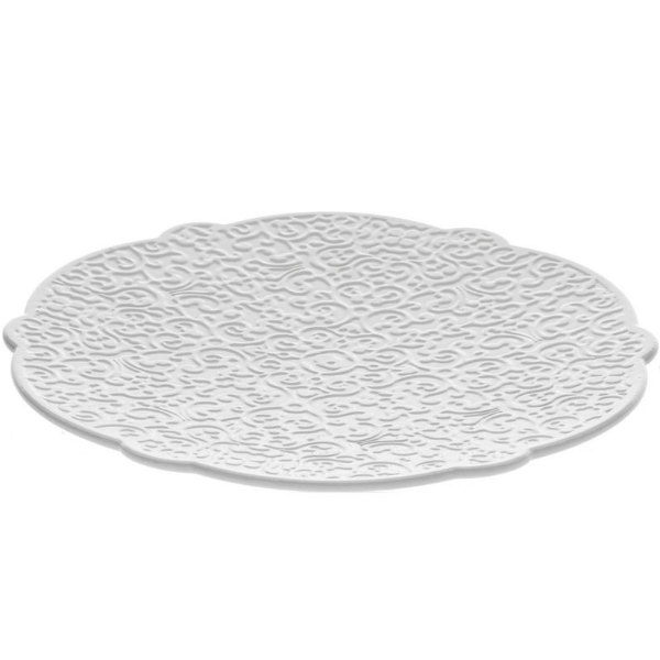 Dressed Saucer, white
