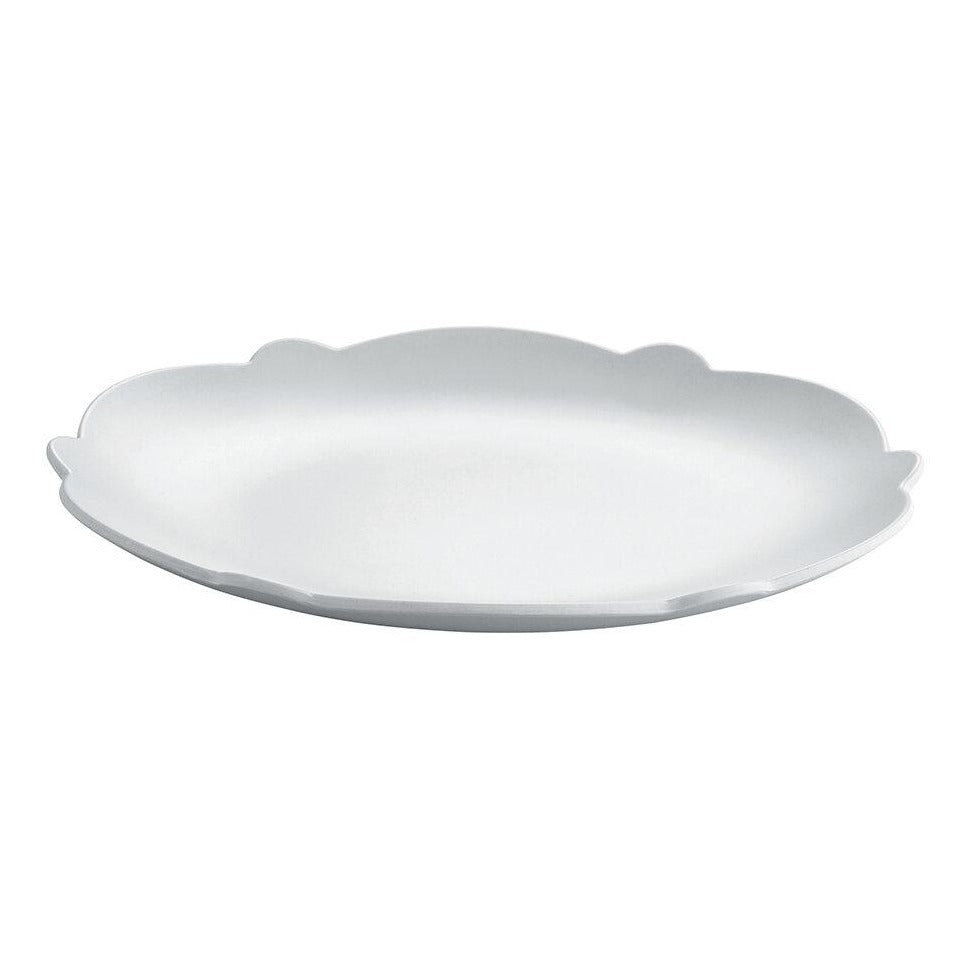 Dressed Side Plate, white