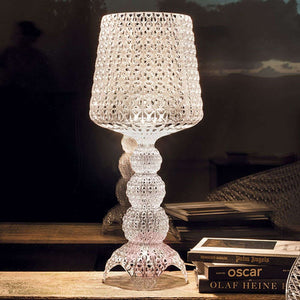 Kabuki Table Lamp, Crystal