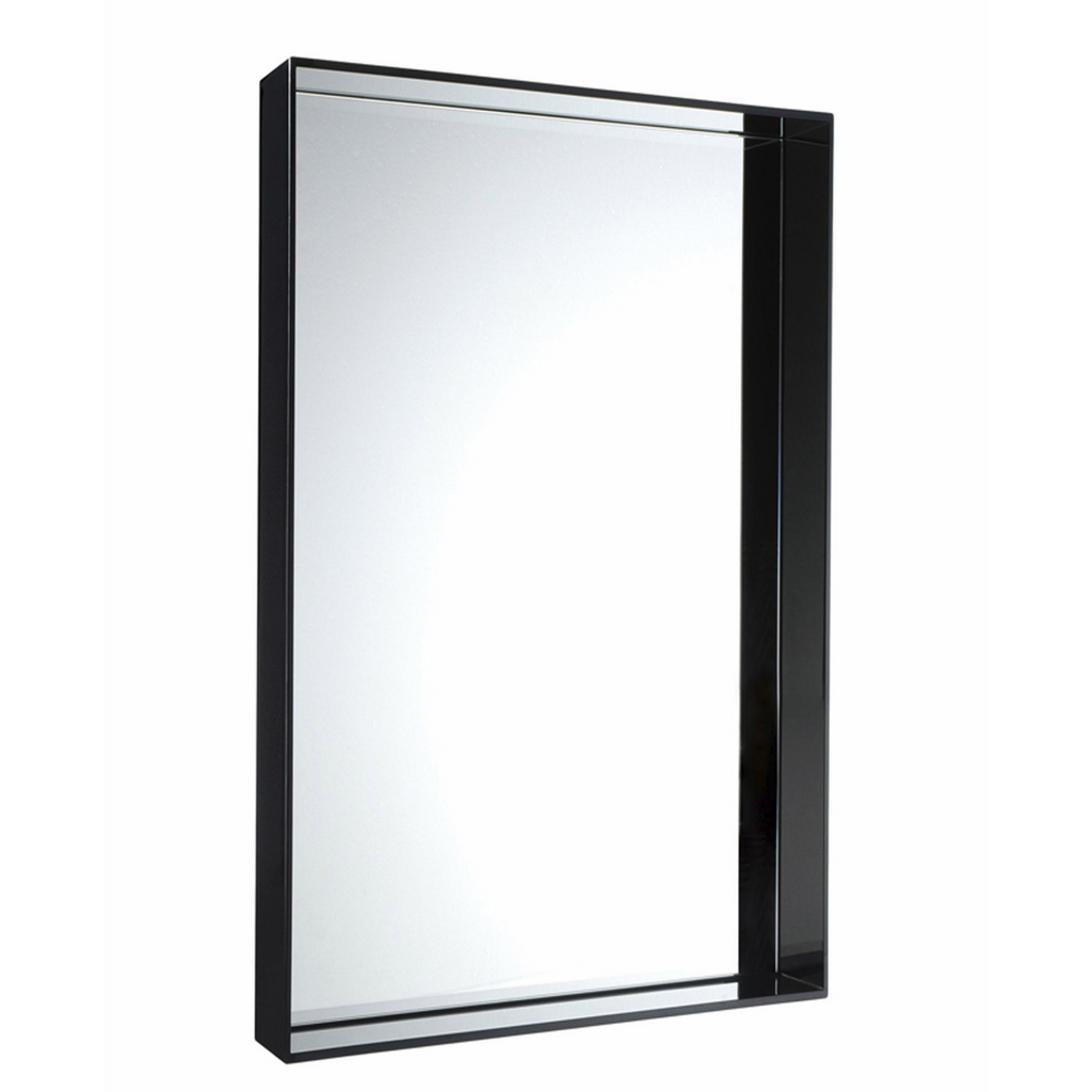 Only Me Mirror, gloss Black (Large)