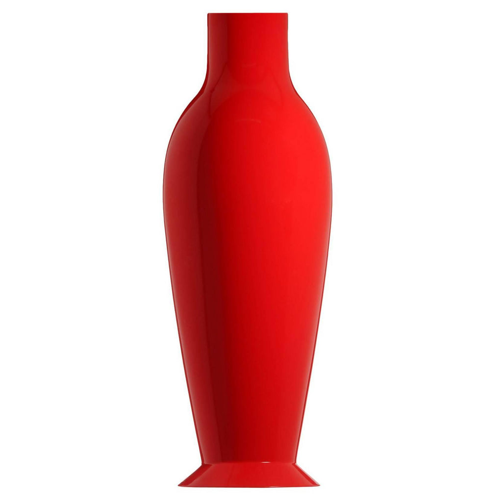 Misses Flower Power Vase, Red