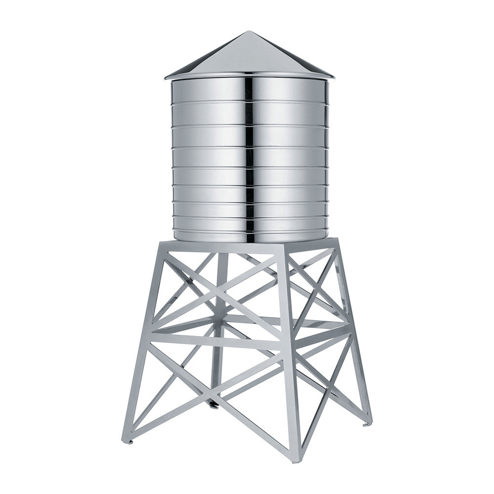 Water Tower Container - Stainless Steel