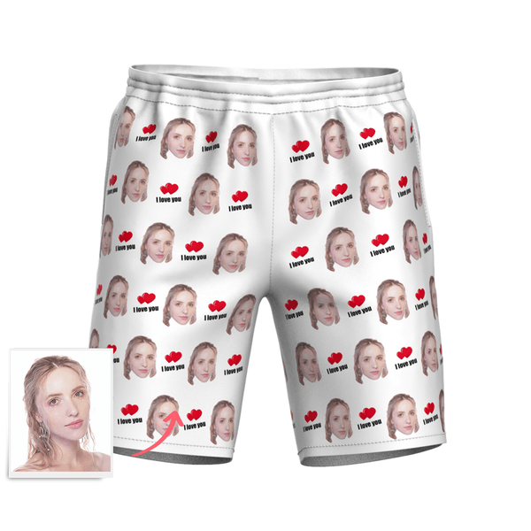 White Beach Shorts