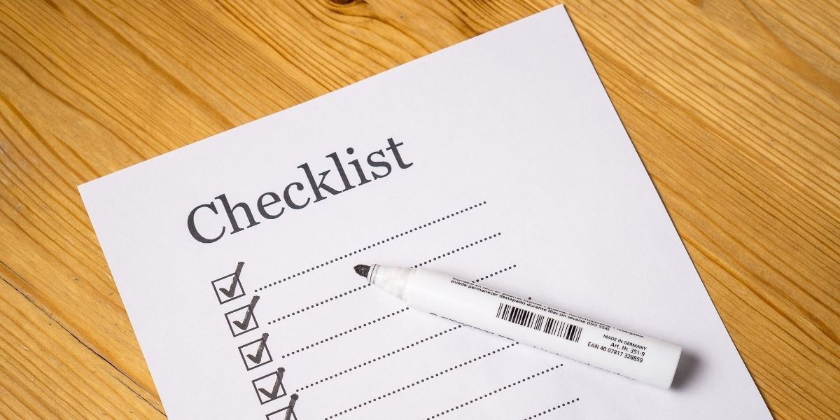 Checklist for buying a motorcycle