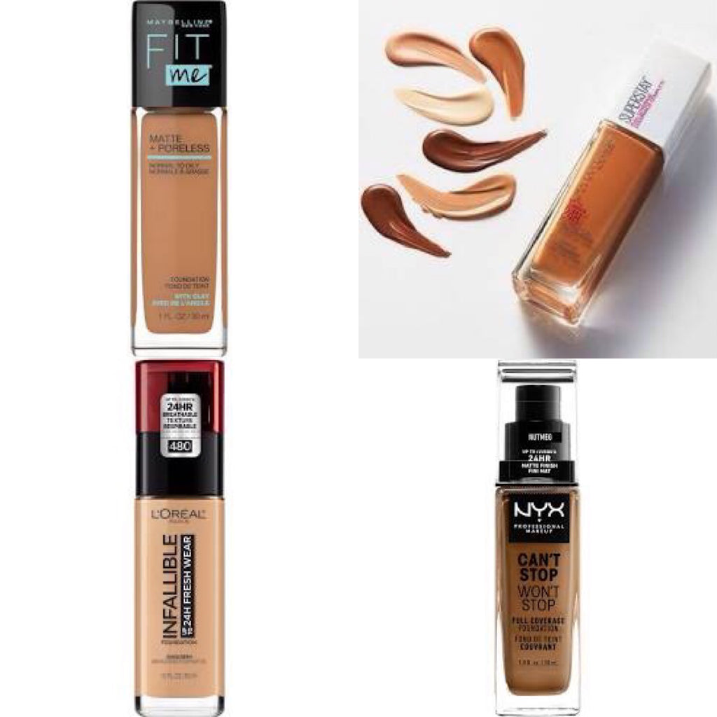 ✨Lush's Fave Drugstore Foundations ✨