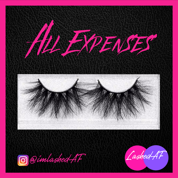 ✨All Expenses 25MM 3D MINK LASH