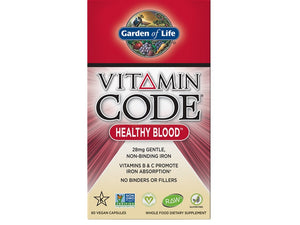 Vitamin Code Garden of life Healthy Blood - Sangre saludable 60 cap - Sernatural Orgánicos y Vitaminas