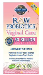 Raw Probiotics Vaginal Care 50 billion - Sernatural Orgánicos y Vitaminas