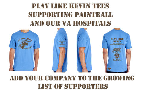PLAY LIKE KEVIN SUPPORTER TEE SHIRT