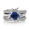 Sapphire & Diamond Rapture Wedding Ring Set