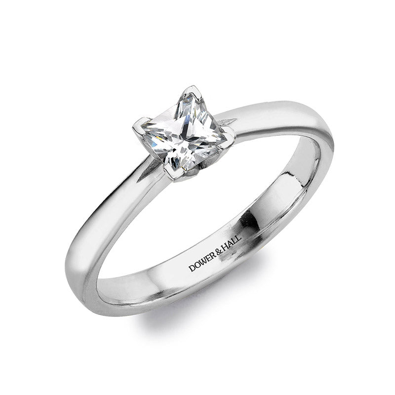 Lotus Princess Engagement Ring - 0.40CT
