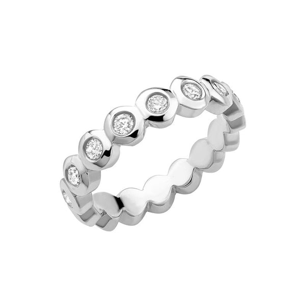 Diamond Dotty Full Eternity Ring - 0.50CT