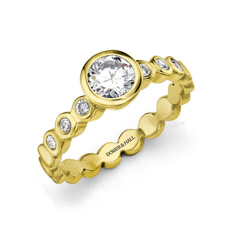 Dotty Engagement Ring - 0.70CT
