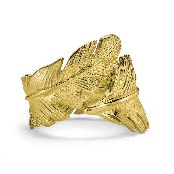 Statement  Feather Ring