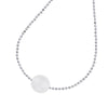 14mm Single White Pearl Pendant