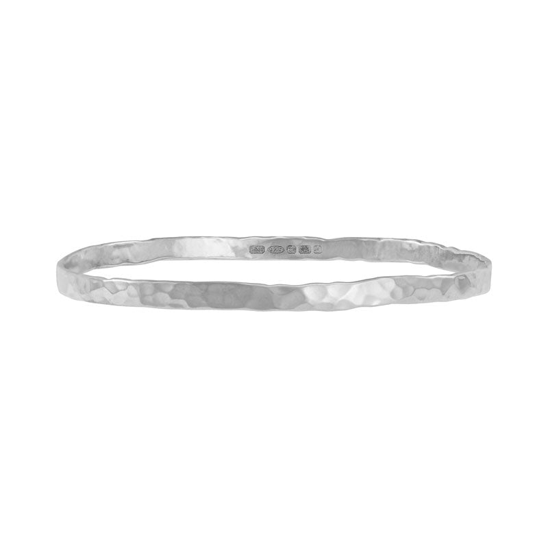 4mm Hammered Nomad Bangle