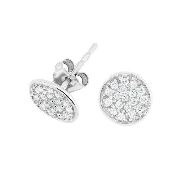Diamond Pebble Studs - 0.40CT