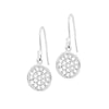 Diamond Pebble Drop Earrings - 0.80CT