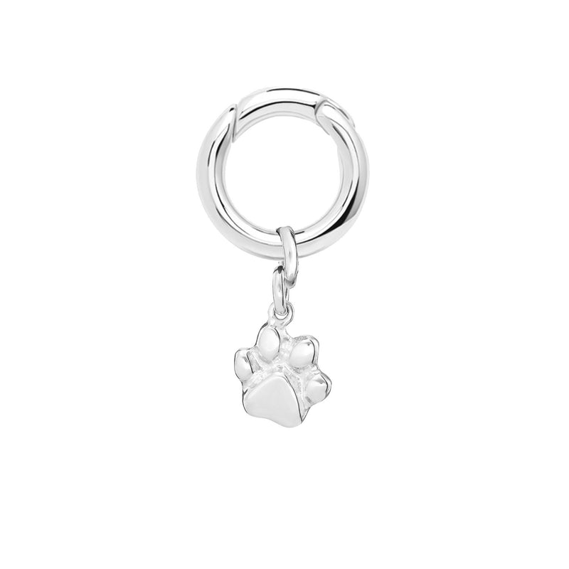 Sculpted Pet Paw Charm