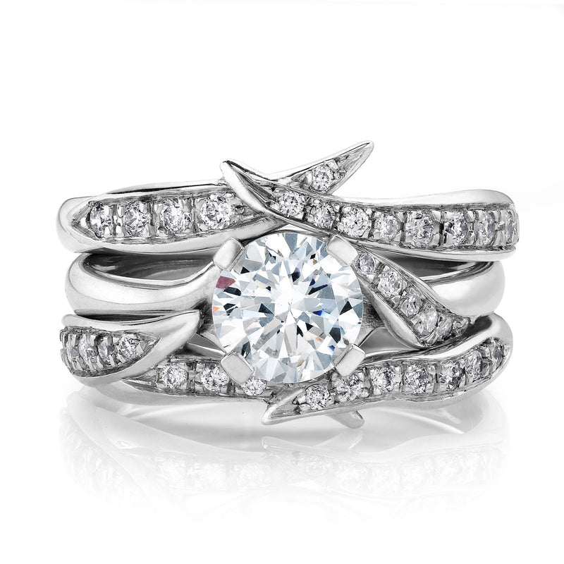 Diamond Rapture Wedding Ring Set