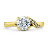 Diamond Rapture Uno Engagement Ring - 0.70CT