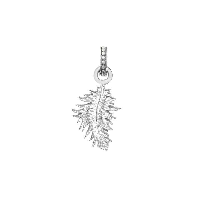 Feather Story Charm