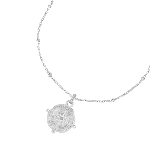 Engravable Small True North Story Necklace