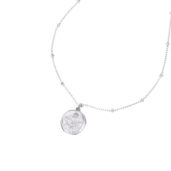 Engravable Sixpence Story Necklace