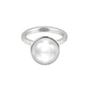 14mm White Freshwater Pearl Ring