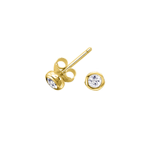 Diamond Dew Studs - 0.12CT