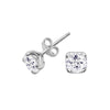 6mm White Topaz Claw-Set Twinkle Studs