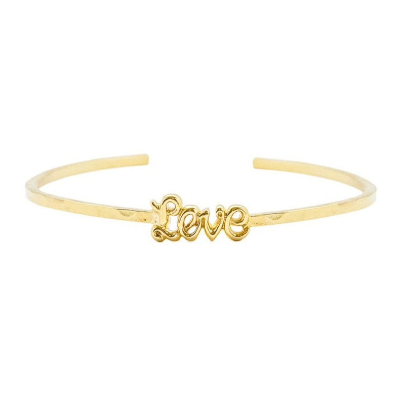 'Love' Luscious Letters Bangle