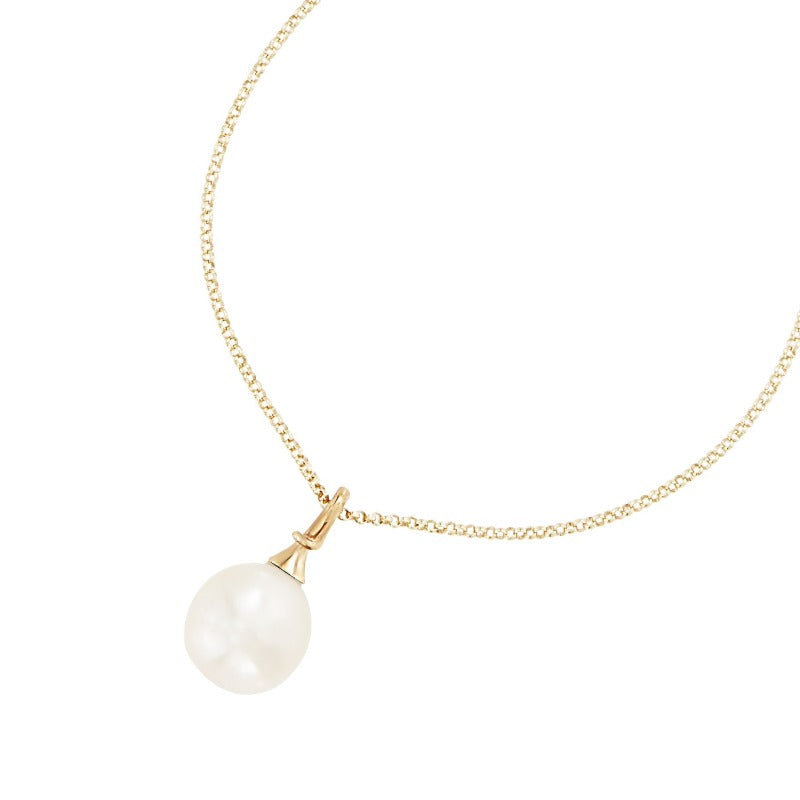 9ct South Sea Pearl Waterfall Pendant