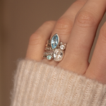 Serenity Twinkle Ring Stack